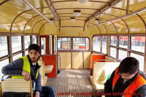 Трамвай КТМ-1 на параде трамваев в Москве