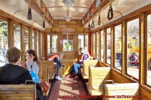 Трамвай Н на параде трамваев в Москве