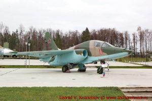 Штурмовик Су-25Т в парке Патриот