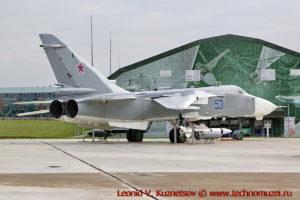 Бомбардировщик Су-24 в парке Патриот