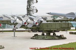 Зенитный комплекс С-125М Нева-М с ракетами 5В27 (В-601П) в парке Патриот