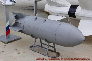 Авиабомба ЗАБ-500КШ в парке Патриот