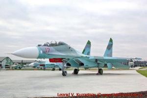 Истребитель Су-27УБ в парке Патриот