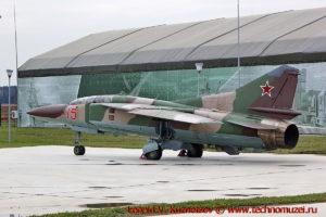 Истребитель МиГ-23У в парке Патриот