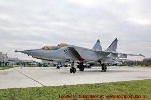 Истребитель МиГ-25У в парке Патриот
