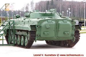 Боевая разведывательная машина БРМ-1К в парке Патриот