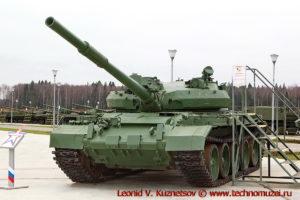 Танк Т-62М Объект 166М6 в парке Патриот