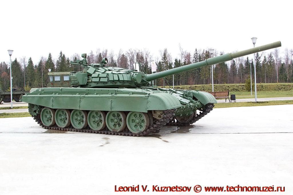 Танк Т-72Б1 Объект 184-1 в парке Патриот