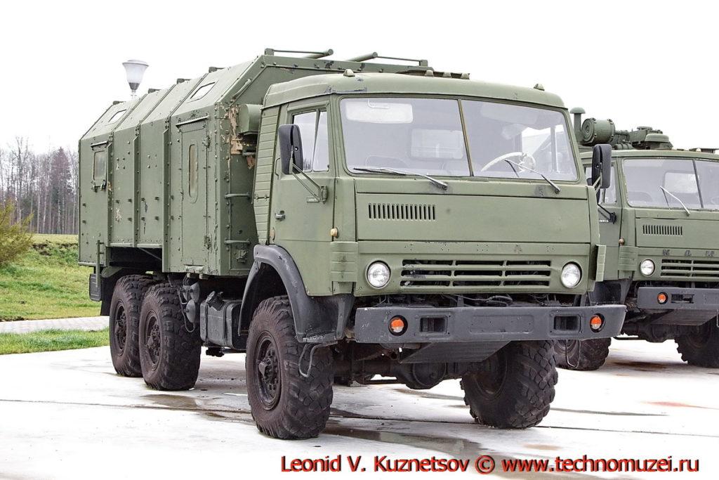 Кузов КУНГ на шасси КАМАЗ-43114 в парке Патриот