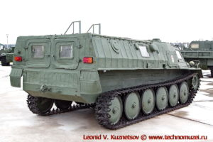 Гусеничный транспортер МТ-М (ГАЗ-3933) в парке Патриот
