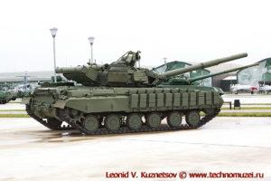 Танк Т-64БВ в парке Патриот