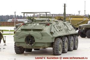 Командно-штабная машина Р-145БМ Чайка в парке Патриот