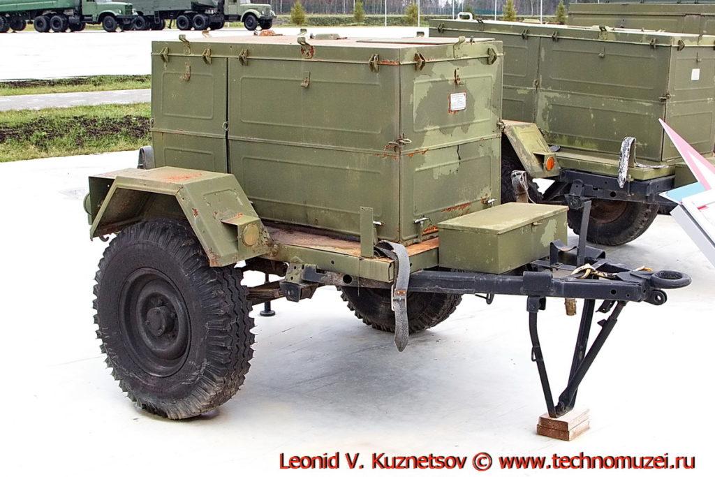 Мотонасосная установка МПГ-20 в парке Патриот