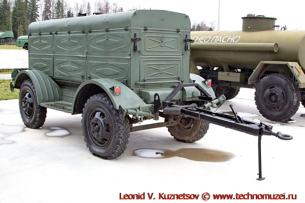 Передвижная насосная установка ПНУ 100/200М в парке Патриот