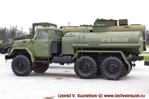 Автоцистерна АЦ-4,0-131 в парке Патриот