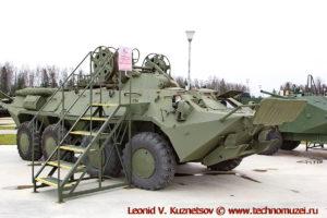 Бронированная ремонтно-эвакуационная машина БРЭМ-К в парке Патриот