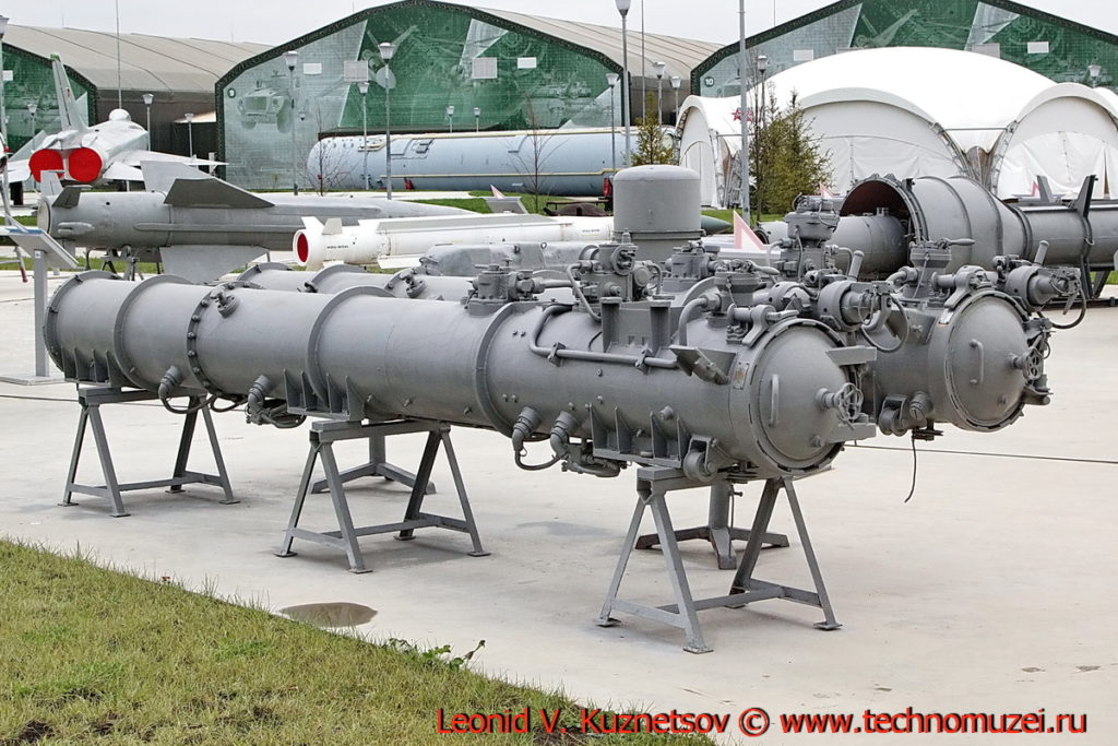 Торпедный аппарат ОТА-40 Изделие 1074 в парке Патриот