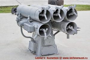 Реактивно-бомбометная установка РБУ-1200 Ураган в парке Патриот