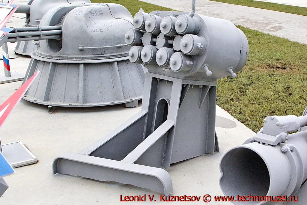 Корабельная пусковая установка КТ-216 в парке Патриот