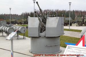 Корабельная артустановка 2М-3М в парке Патриот