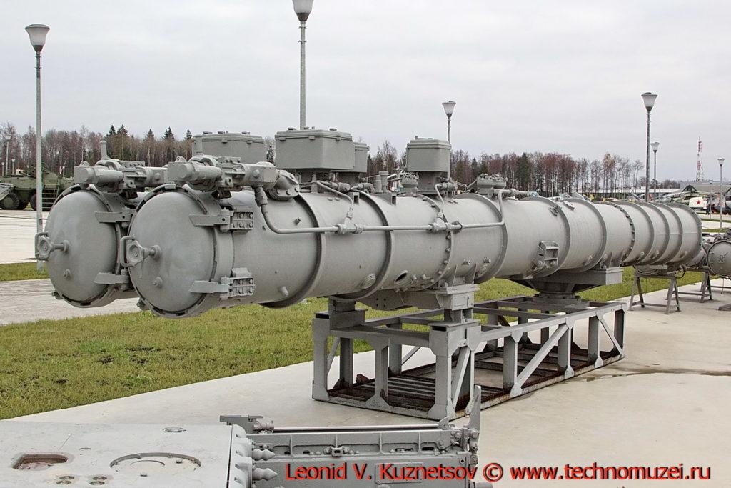 Торпедный аппарат ДТА-53 в парке Патриот