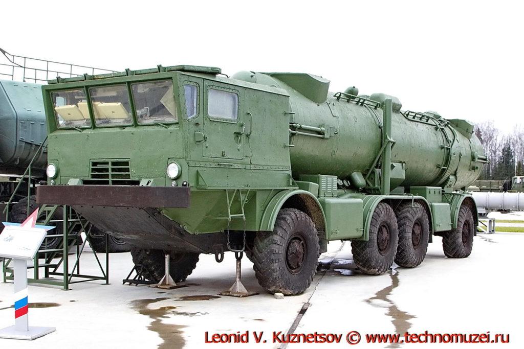 Пусковая установка СПУ-35Б берегового комплекса 4К44 Редут в парке Патриот