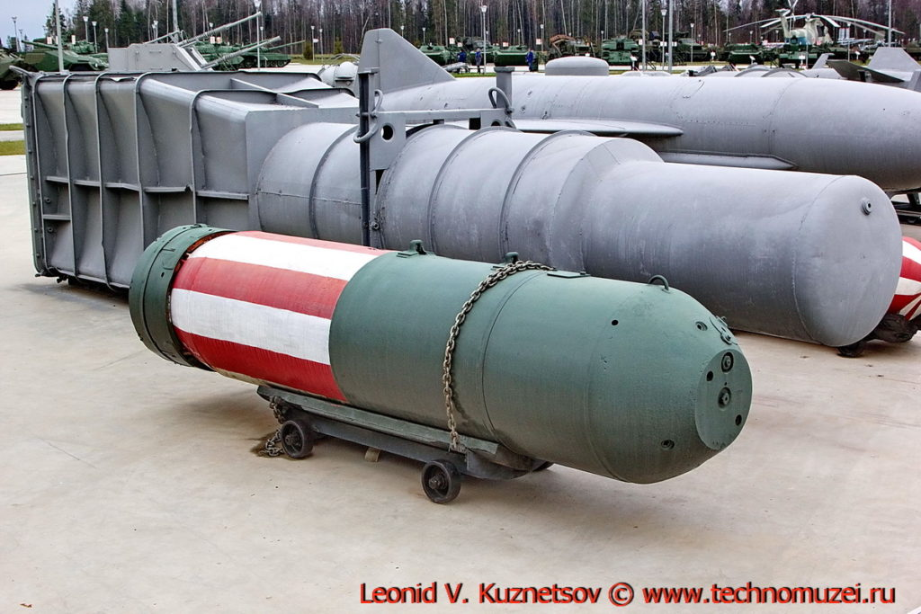 Донная мина УДМ-500 в парке Патриот