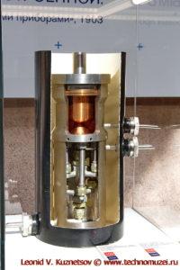 Модель ракетного двигателя ОРМ-1 в павильоне Космос на ВДНХ