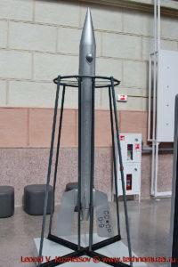 Ракета ГИРД-09 в павильоне Космос на ВДНХ