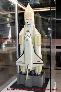 Модель комплекса Энергия-Буран в павильоне Космос на ВДНХ