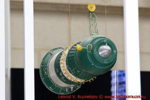 Транспортный корабль Прогресс в павильоне Космос на ВДНХ