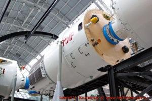 Базовый блок орбитальной станции Мир в павильоне Космос на ВДНХ