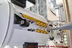 Модуль Квант-2 орбитальной станции Мир в павильоне Космос на ВДНХ