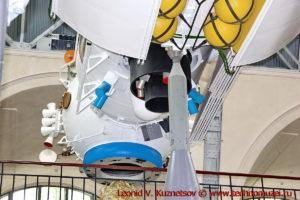 Модуль Кристалл орбитальной станции Мир в павильоне Космос на ВДНХ