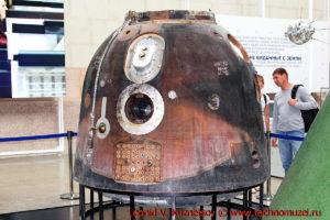 Спускаемый аппарат космического корабля Союз-ТМ в павильоне Космос на ВДНХ