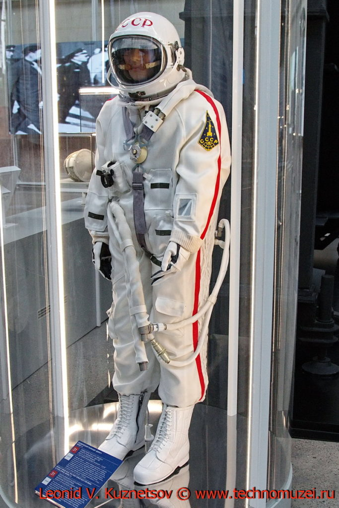 Скафандр Беркут в павильоне Космос на ВДНХ