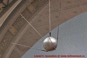 Первый искусственный спутник Земли в павильоне Космос на ВДНХ