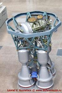 Двигатель РД-107А/РД-108А в павильоне Космос на ВДНХ