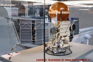 Масштабная модель станции Вега в павильоне Космос на ВДНХ