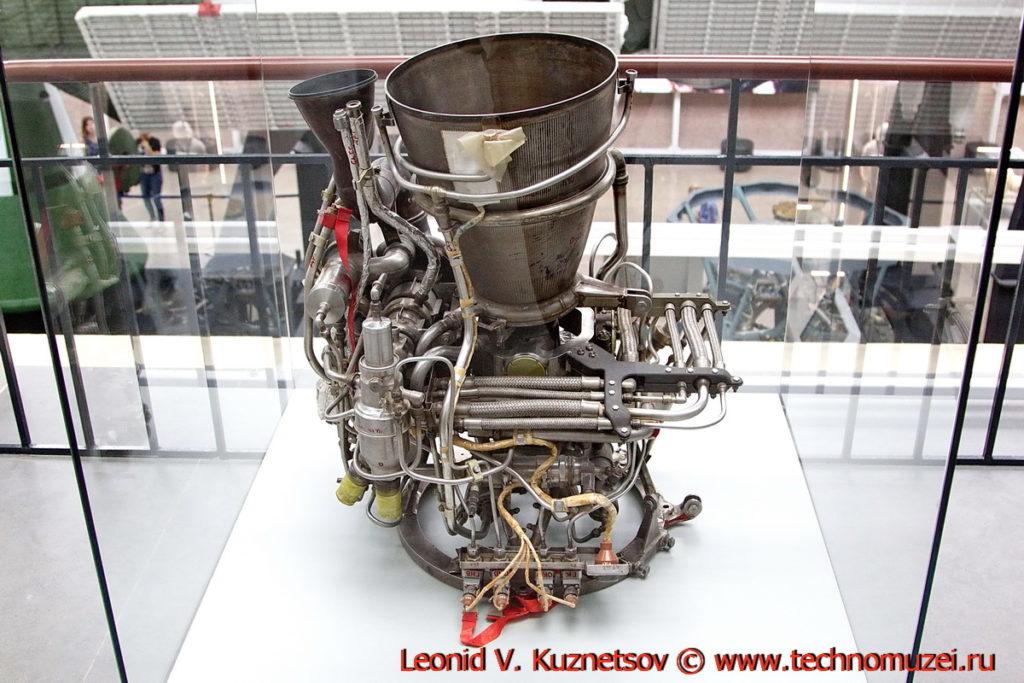 Корректирующая тормозная двигательная установка 11Д425А в павильоне Космос на ВДНХ