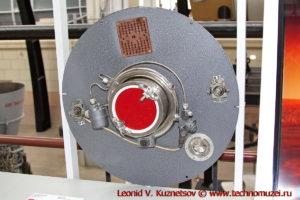 Макет ионного двигателя в павильоне Космос на ВДНХ