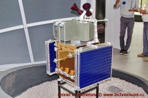 Макет спутника Канопус-В для мониторинга чрезвычайных ситуаций в павильоне Космос на ВДНХ