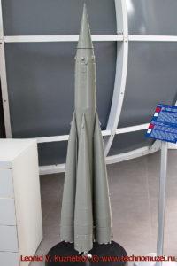 Макет ракеты Р-7 в павильоне Космос на ВДНХ