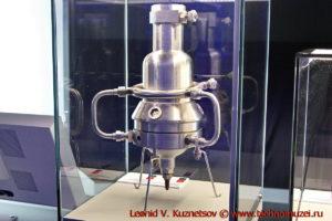 Ракетный двигатель ОРМ-65 в павильоне Космос на ВДНХ