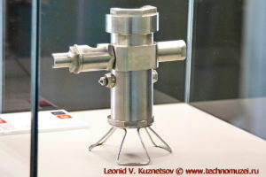 Ракетный двигатель ОРМ в павильоне Космос на ВДНХ