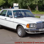 Mercedes-Benz 250 (W123) 1982 года на ралли Bosch Moskau Klassik 2018