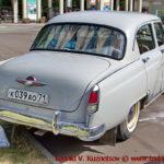 """ГАЗ-М21 """"Волга"""" 1958 года на ралли Bosch Moskau Klassik 2018"""