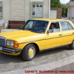 Mercedes-Benz 200 W123 1977 года на ралли Bosch Moskau Klassik 2018