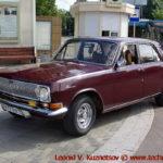 """ГАЗ-24 """"Волга"""" 1978 года на ралли Bosch Moskau Klassik 2018"""