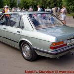 BMW 520i 1985 года на ралли Bosch Moskau Klassik 2018